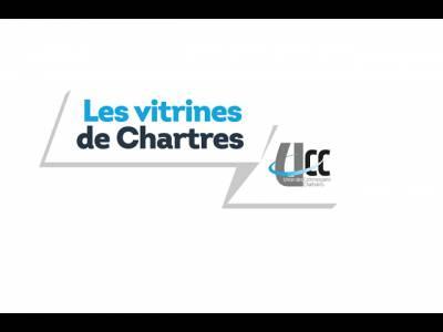 Les vitrines de Chartres